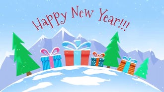 New Year Greetings: After Effects Templates