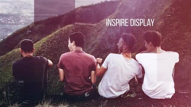Inspire Display: Premiere Pro Templates