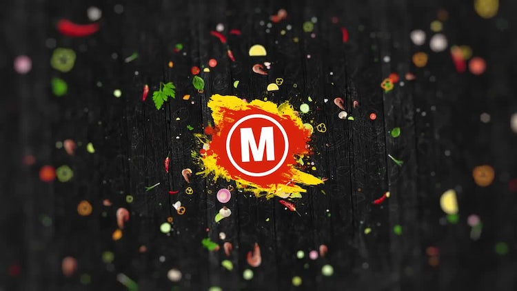 Restaurant Logo Reveal: After Effects Templates