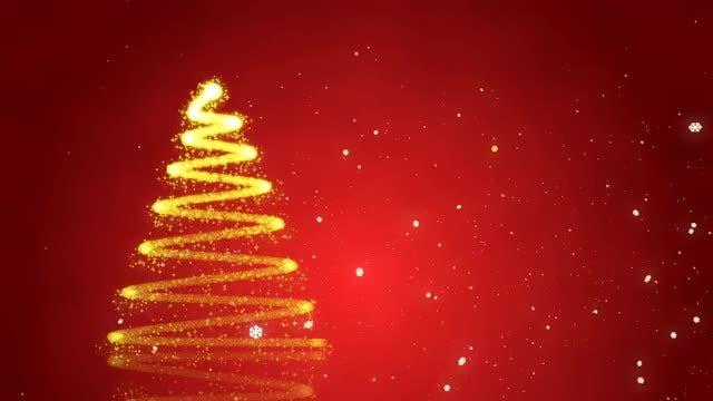 Christmas Tree: Stock Motion Graphics