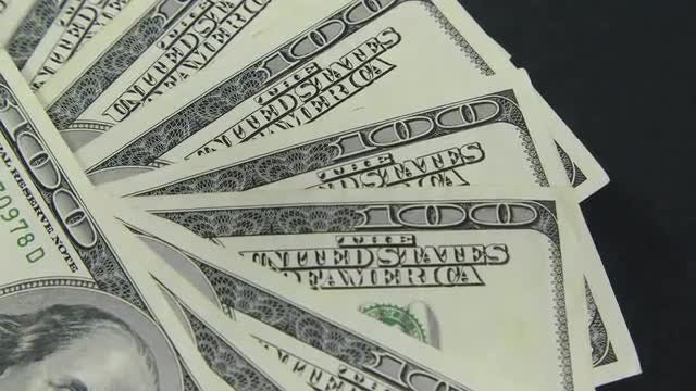 Dollars: Stock Video