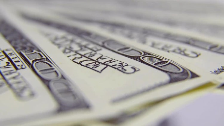Dollars, Macro Shot: Stock Video