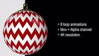 Christmas Balls: Motion Graphics
