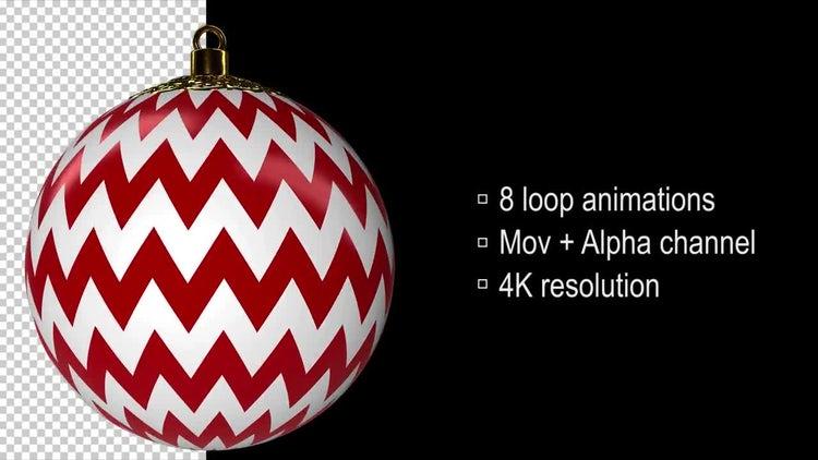 Christmas Balls: Motion Graphics