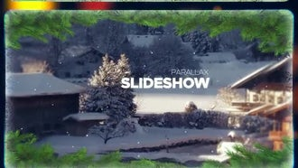 Winter Frames: After Effects Templates