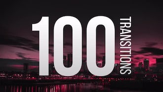 100 Transitions: Premiere Pro Templates