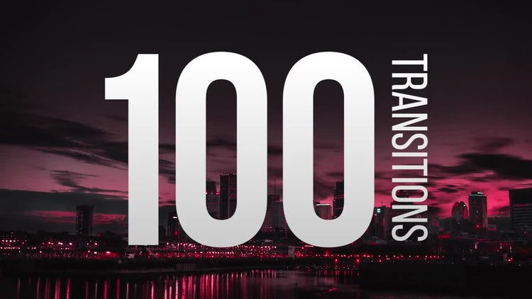 100 Transitions - Premiere Pro Templates | Motion Array