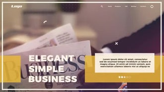 Dynamic Business Opener: After Effects Templates