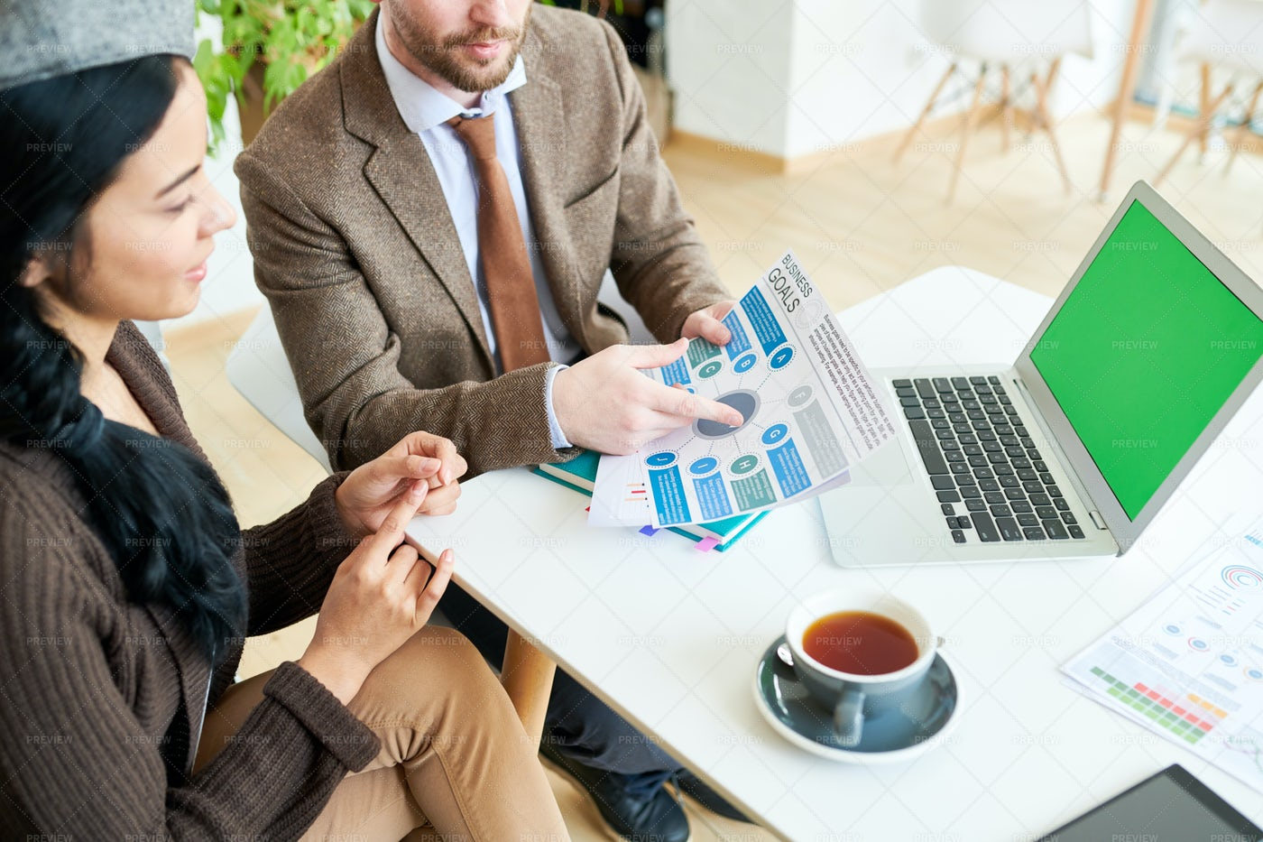 Business People Discussing Strategy: Stock Photos