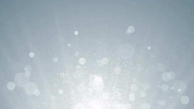 White Particles Background: Stock Motion Graphics