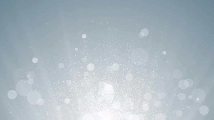 White Particles Background: Motion Graphics