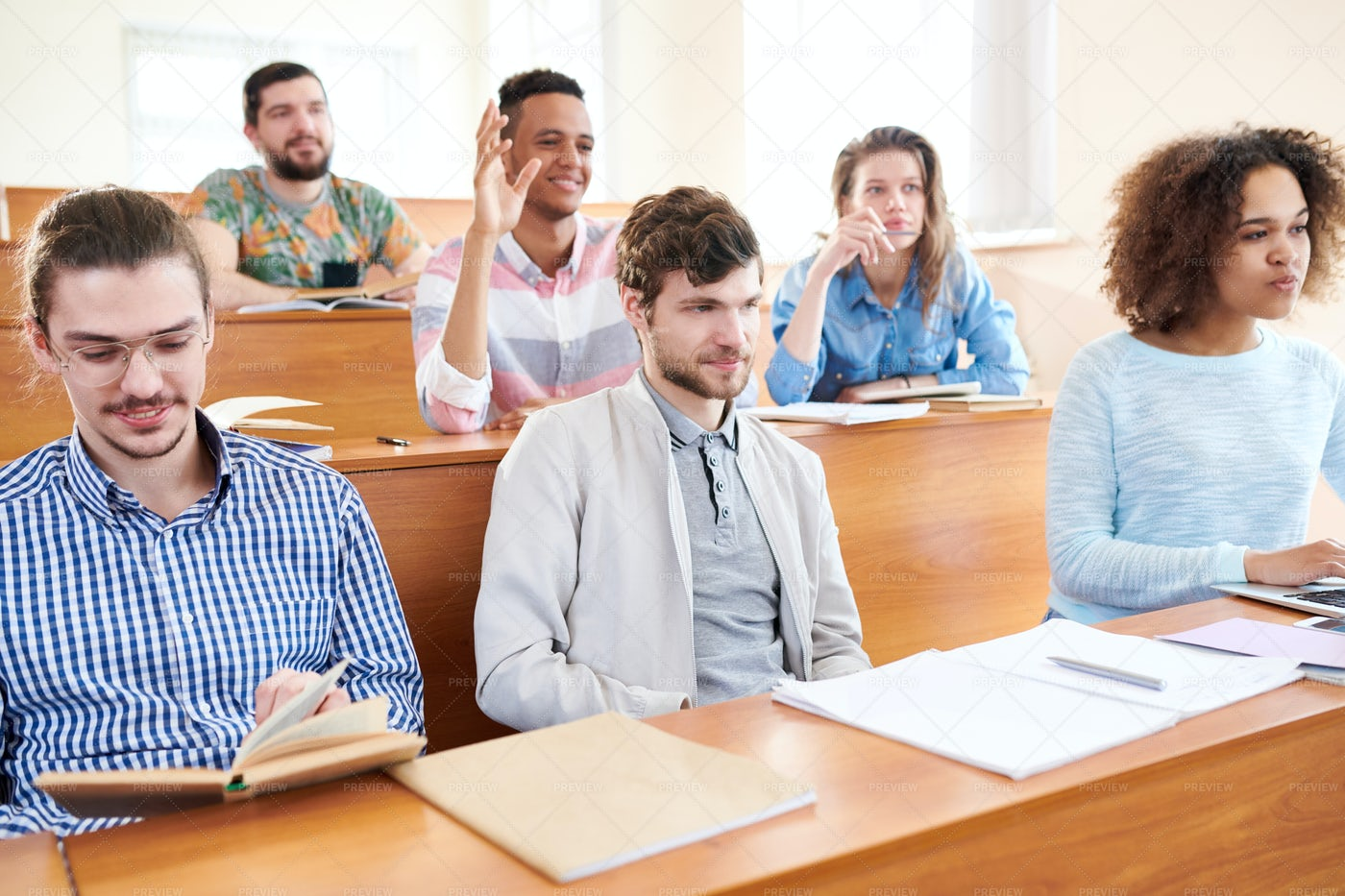 Studying At School: Stock Photos