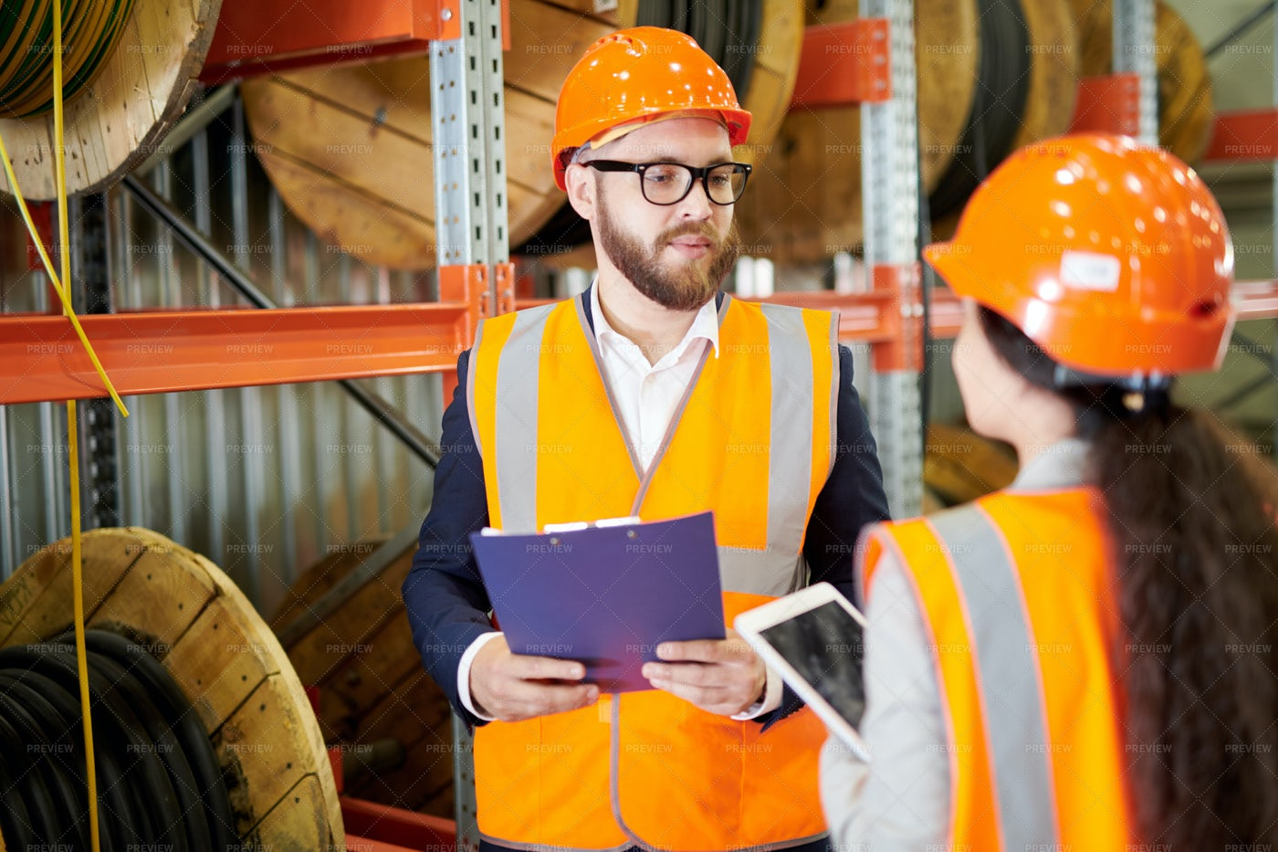 Safety Inspector: Stock Photos