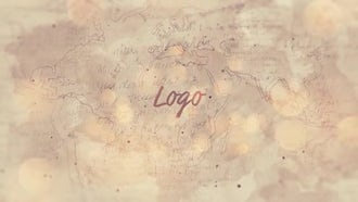 Old Grungy Logo Reveal: After Effects Templates