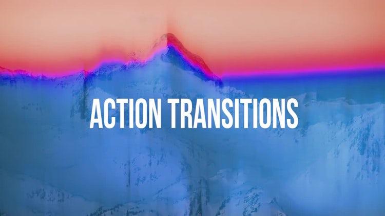 Action Transitions 2: Premiere Pro Templates