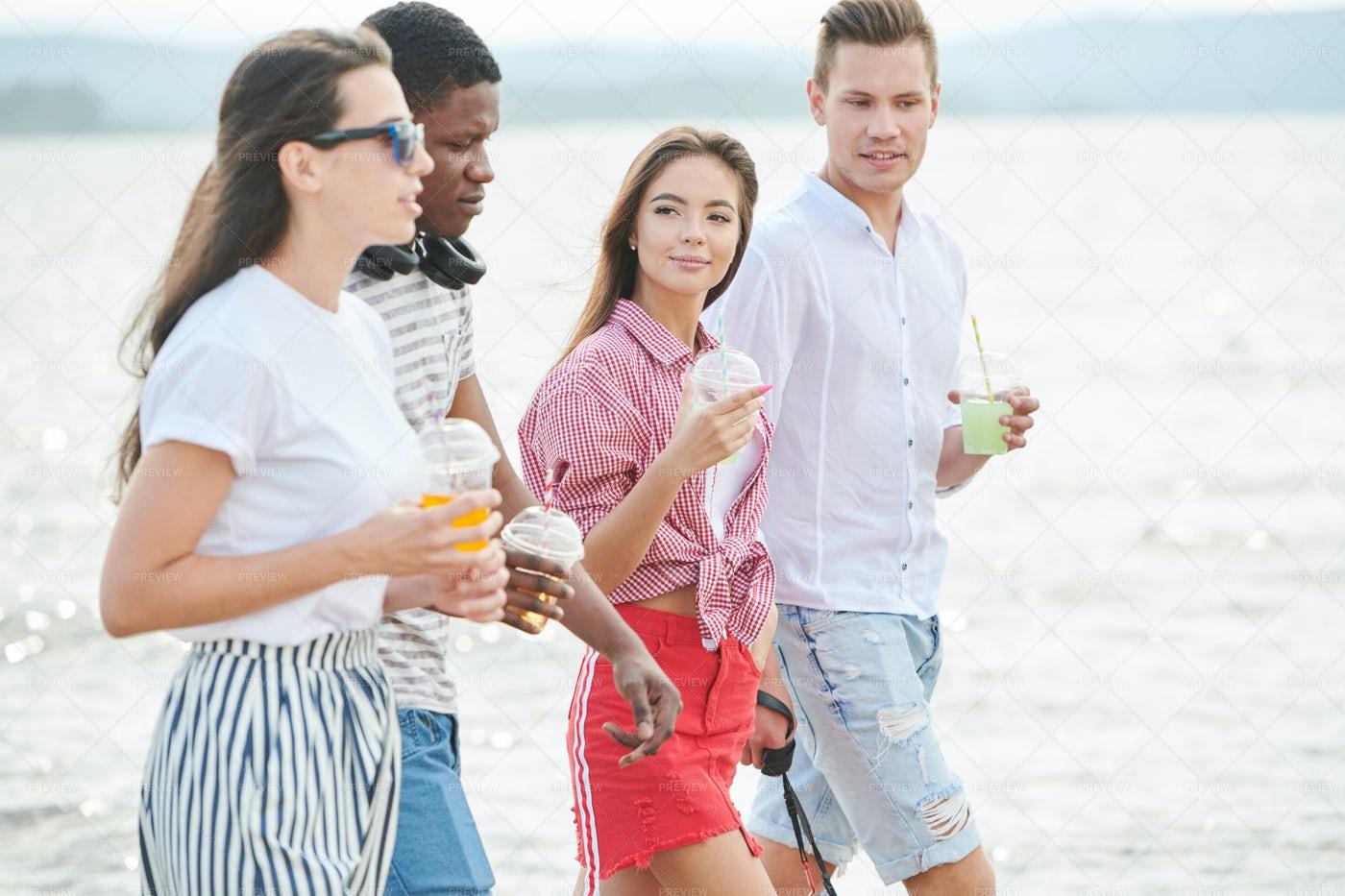 Summer Vacation At Sea: Stock Photos