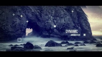 Abstract Parallax Slideshow: After Effects Templates