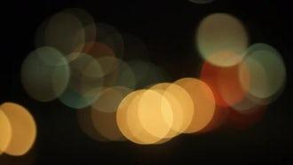 Blur Lights: Stock Video