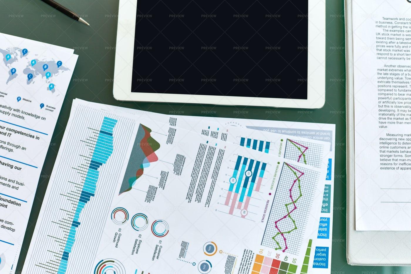 Business Analytics Background: Stock Photos