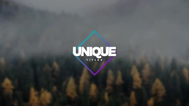 Unique Titles: After Effects Templates