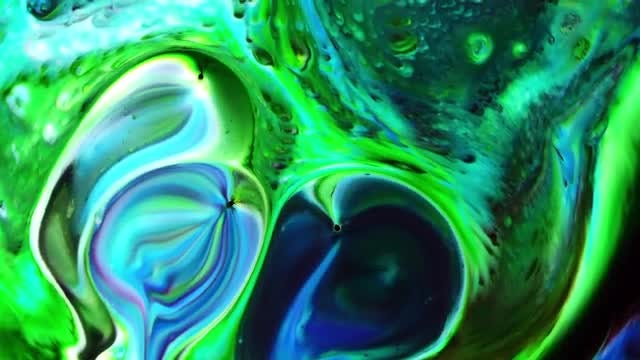 Colorful Ink Paint Blast Turbulence 12: Stock Video