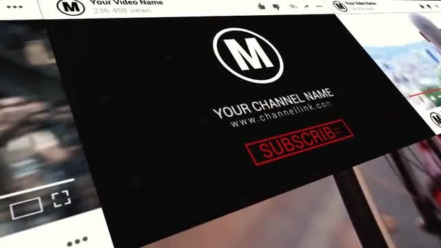 YouTube Promotion: After Effects Templates