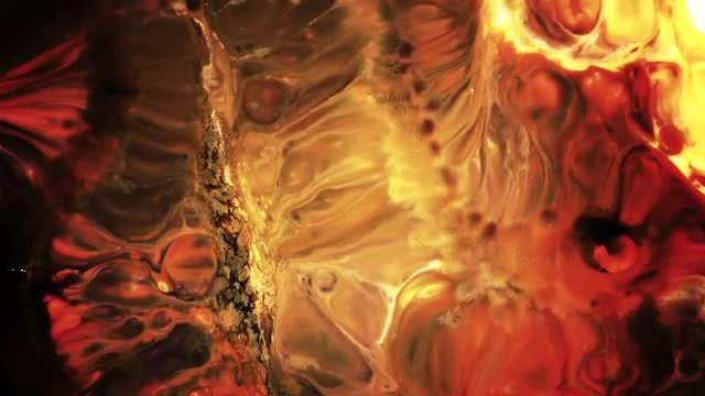 Colorful Ink Paint Blast Turbulence 18: Stock Video