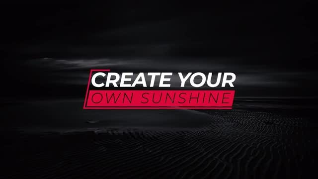 Simple Stylish Titles: After Effects Templates