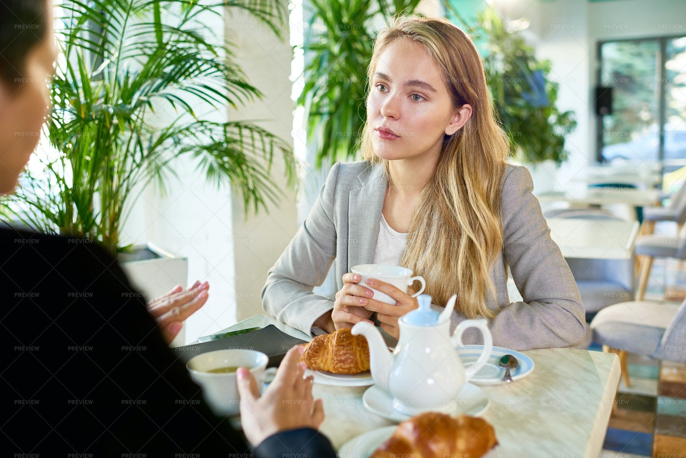 Discussion Of Start-up Project: Stock Photos