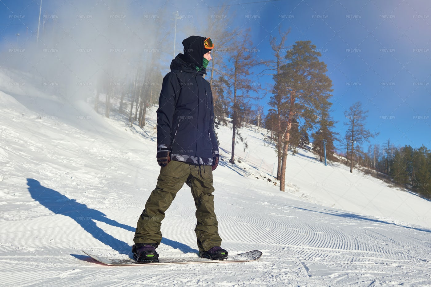 Young Snowboarder: Stock Photos