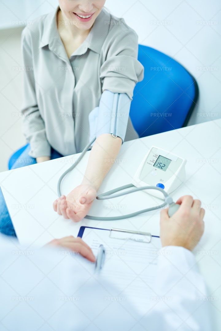 Blood Pressure Monitoring: Stock Photos