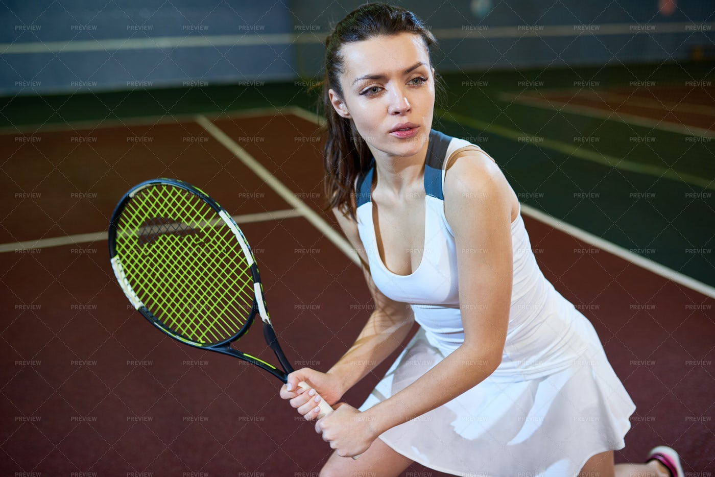 Female Tennis Player: Stock Photos