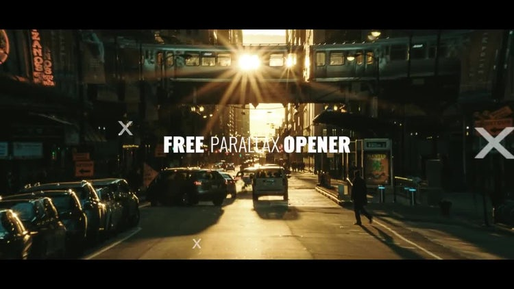 Free Parallax Opener: After Effects Templates