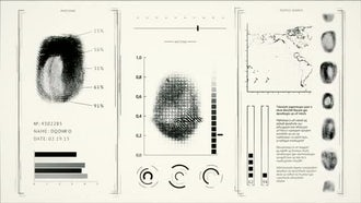 Fingerprint Scanning: Motion Graphics