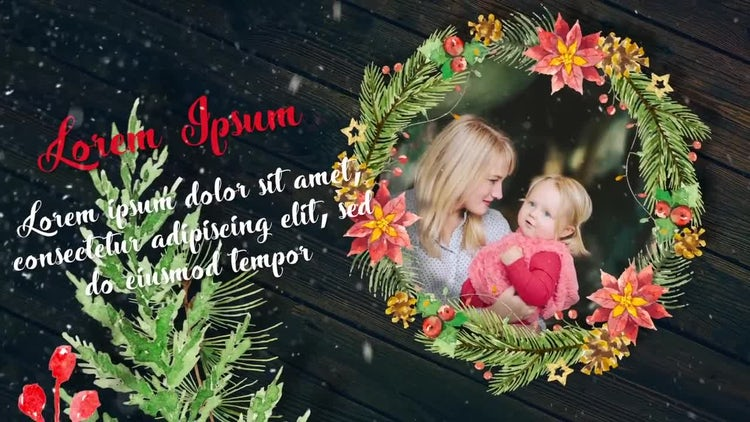 Winter Holidays Slideshow : After Effects Templates