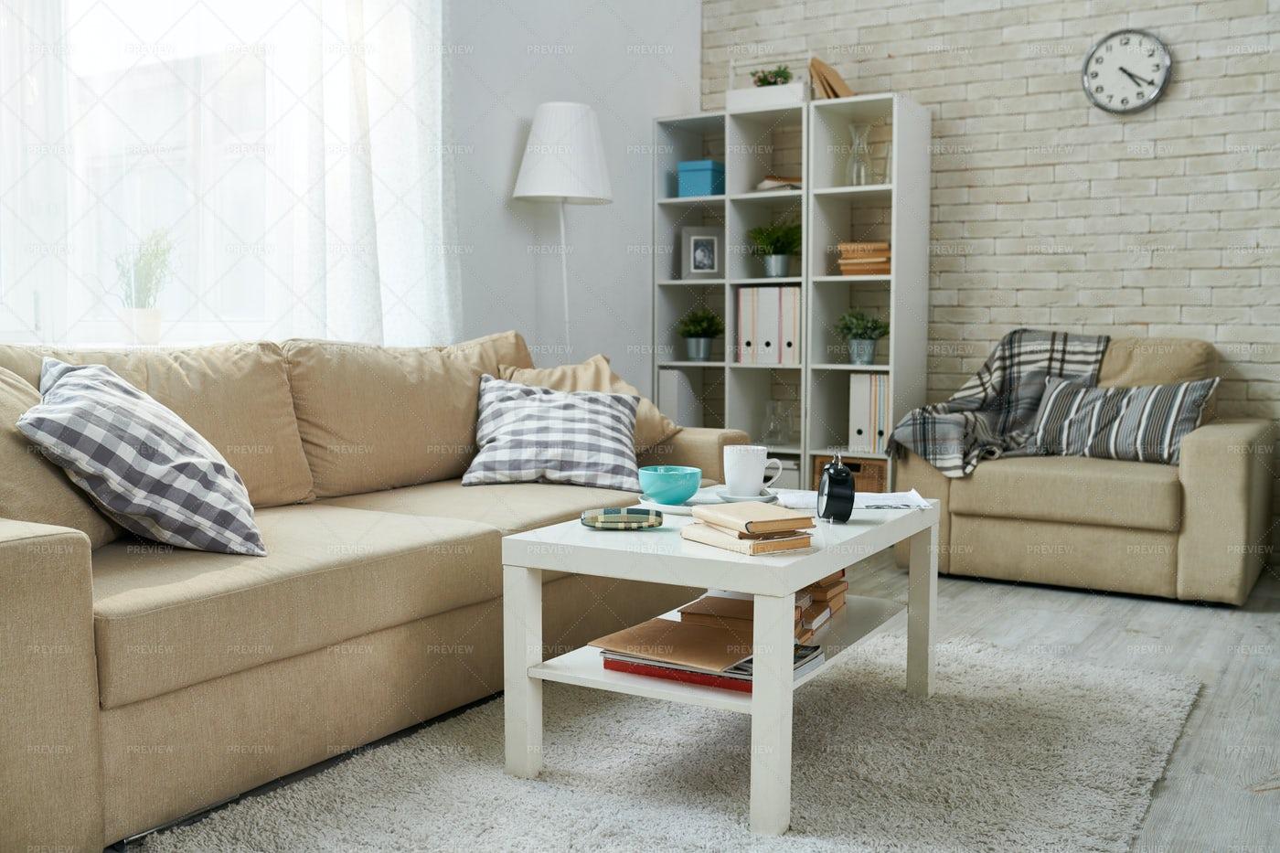 Cozy Home Room: Stock Photos
