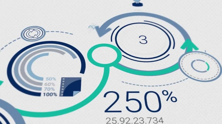 Corporate Infographics: Stock Motion Graphics