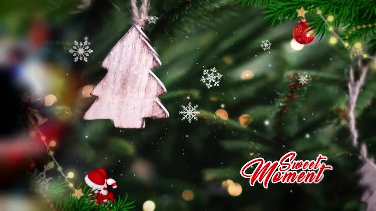 Christmas Slide: After Effects Templates