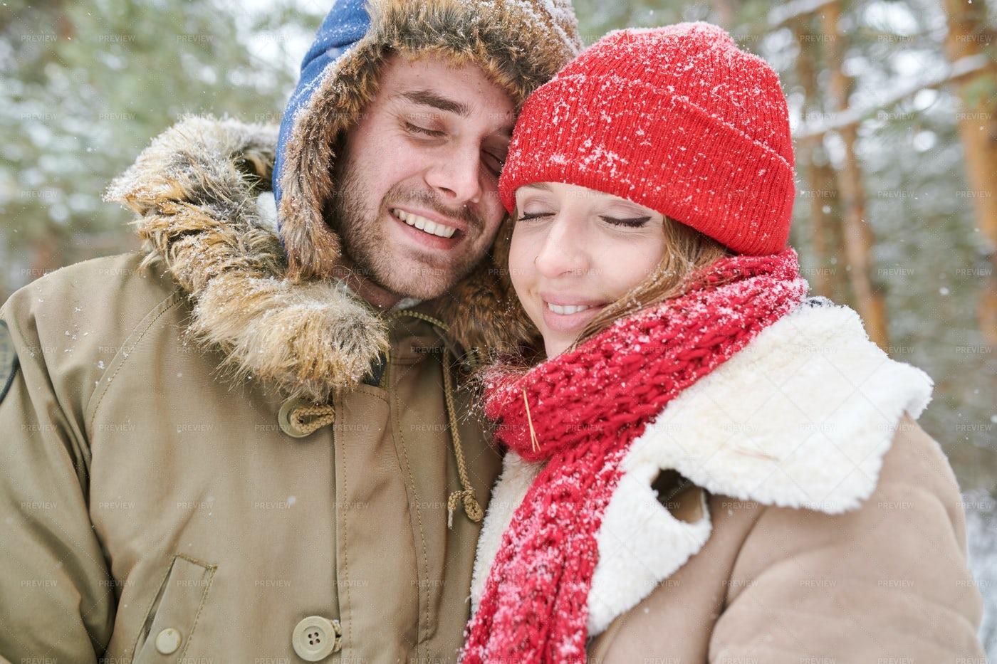 Cute Couple In Love: Stock Photos