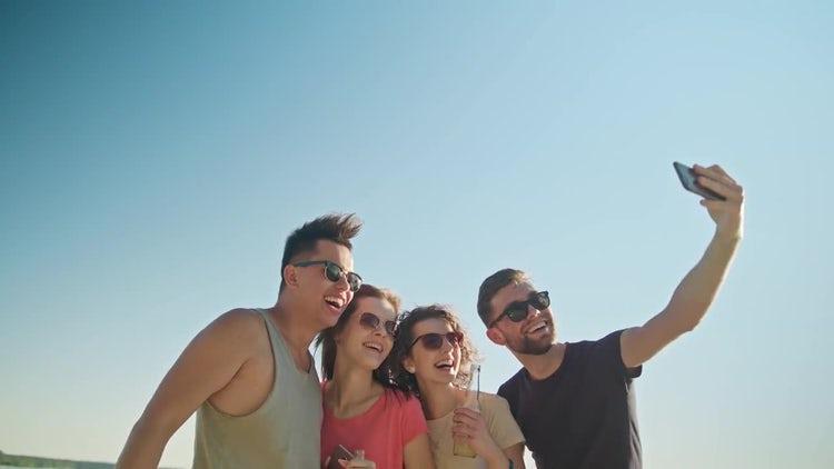 Taking A Selfie: Stock Video