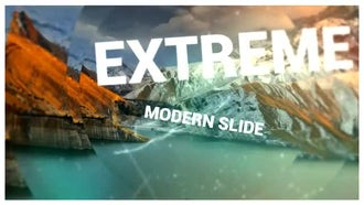 Extreme Modern Slide: After Effects Templates
