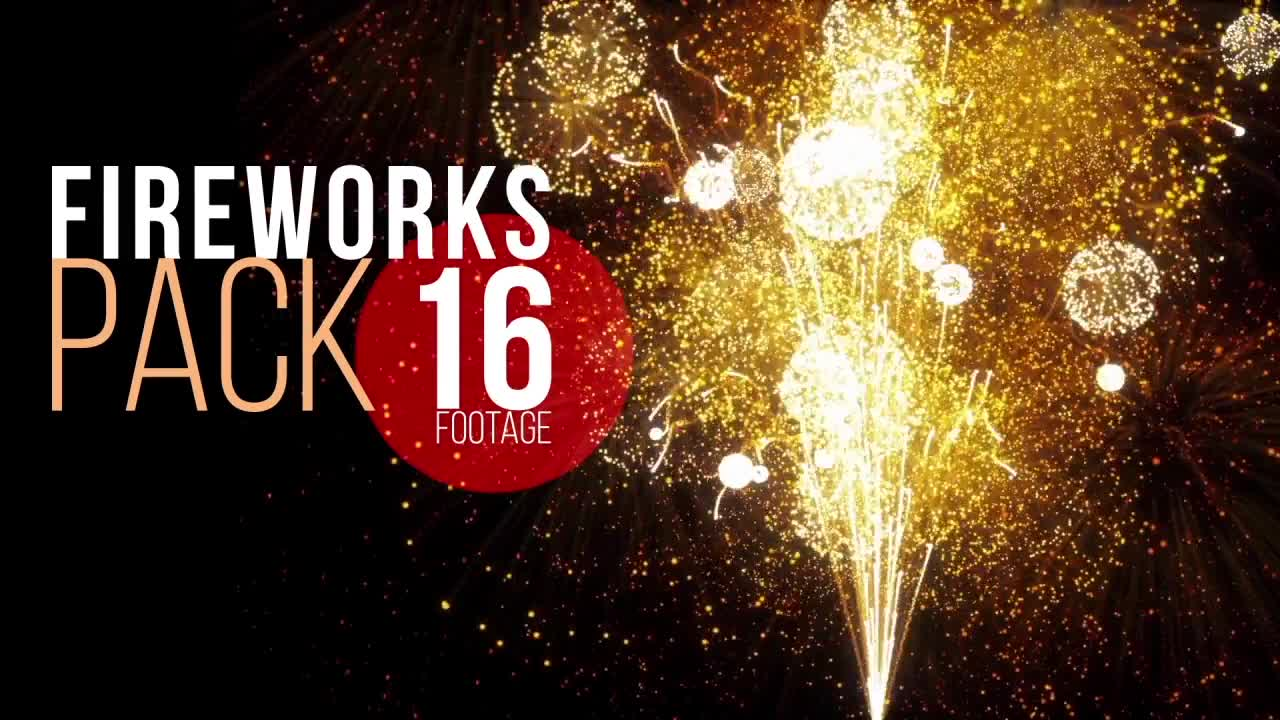 Fireworks Pack Motion Graphics 56382 - MotionArray