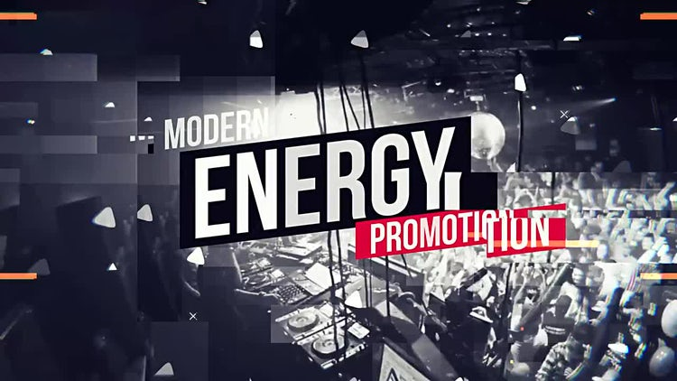Modern Trap Party Opener: After Effects Templates