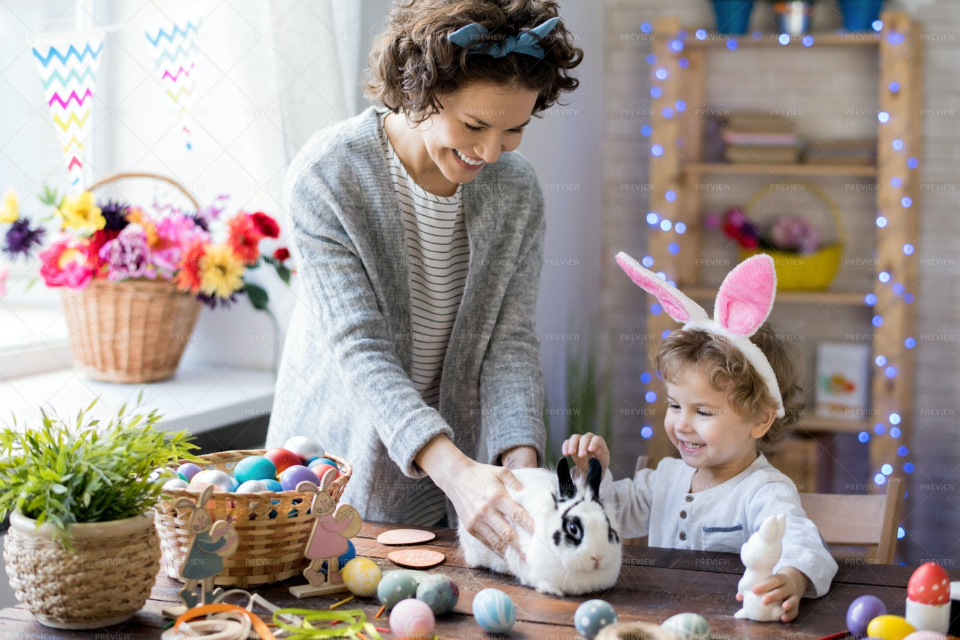 Easter With Kids: Stock Photos