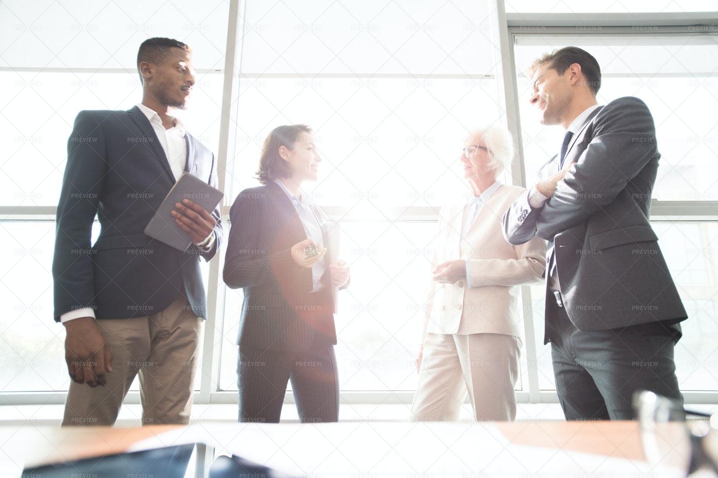 Confident Business People...: Stock Photos