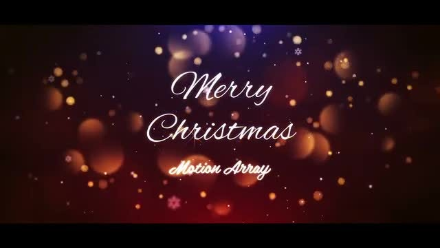Christmas Titles 2: After Effects Templates