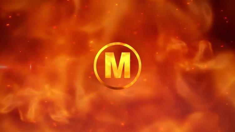 Furious Fire Logo: After Effects Templates