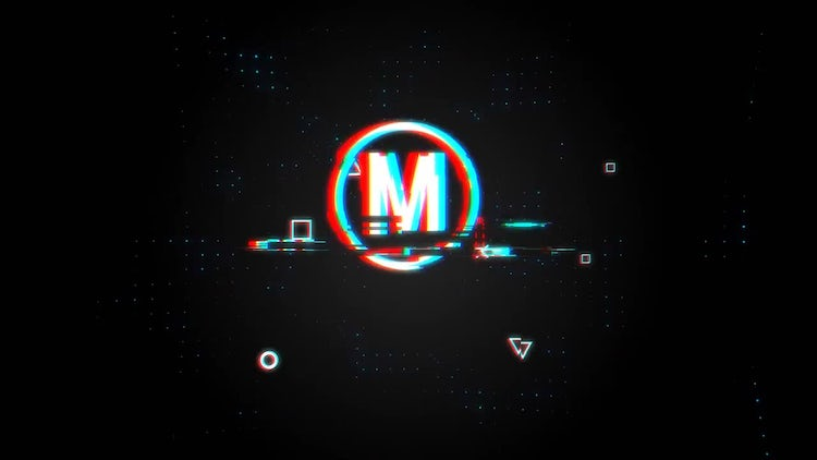 Cyberpunk Glitch logo: After Effects Templates