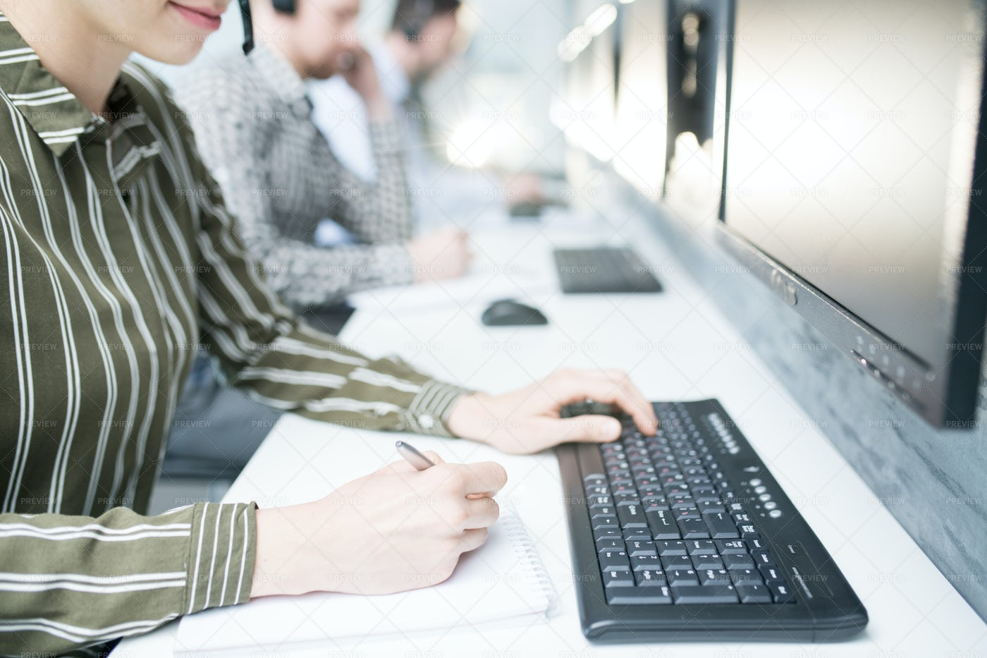 Help Desk Operator: Stock Photos