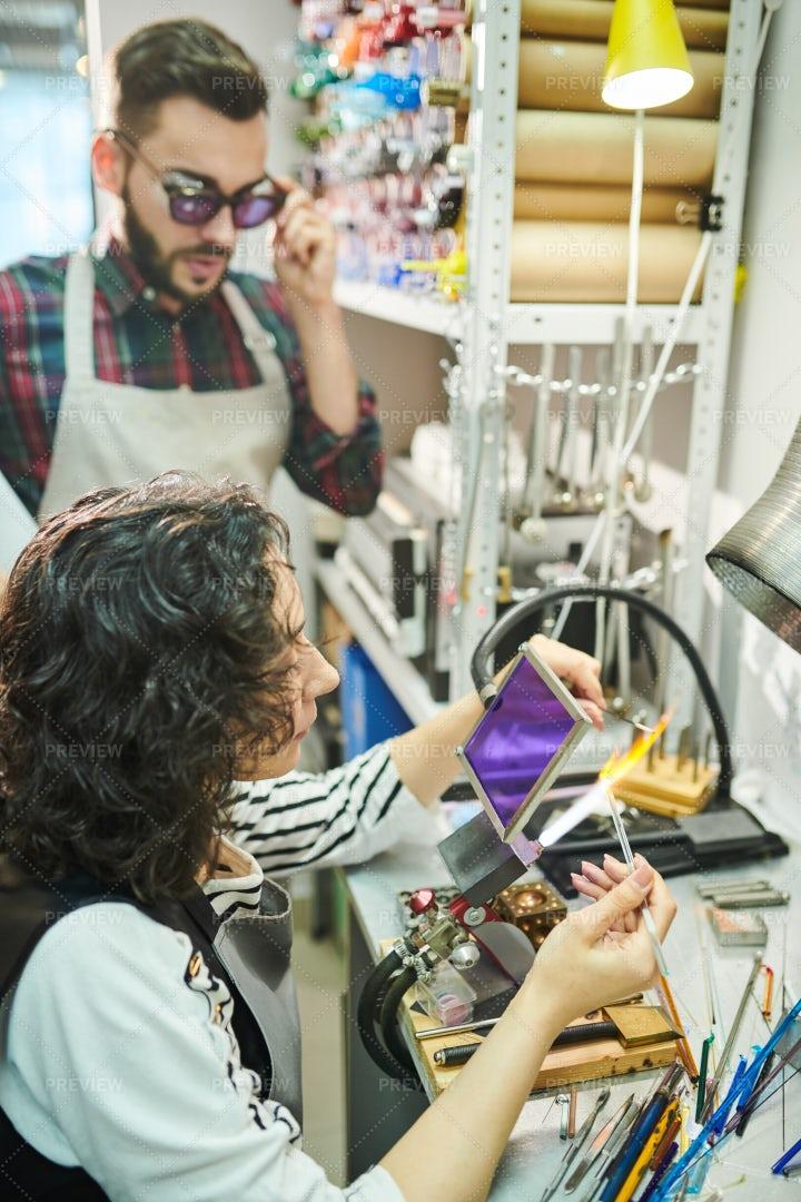 Lampwork Studio: Stock Photos